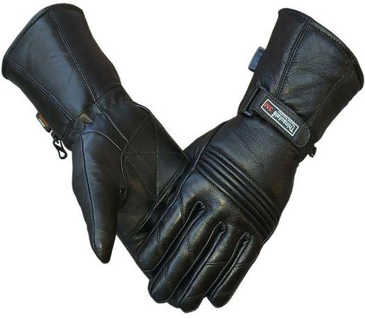 Ръкавици за мотор естествена кожа мото атв