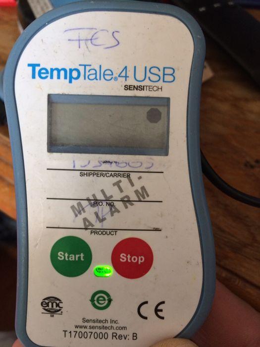 Monitor temperatura sensitech