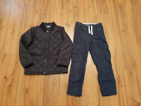 Нов сет за момче яке и карго панталон H&M-7-8г.