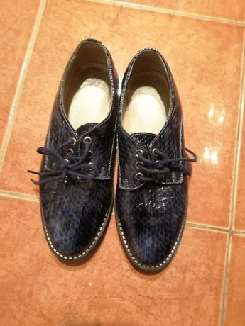 Pantofi piele pentru fete