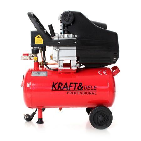 Compresor de aer industrial 24 litri 2.8kW KraftProfesioal KD400