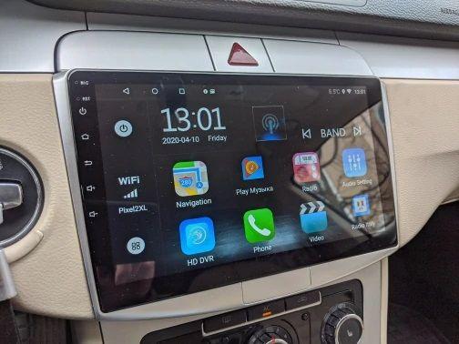 Navigatie Android 9.1 -10 inch-VW Volkswagen Passat B6 B7 CC -dedicata