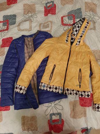 Продам новые куртки покупались и не носился 44 размер
