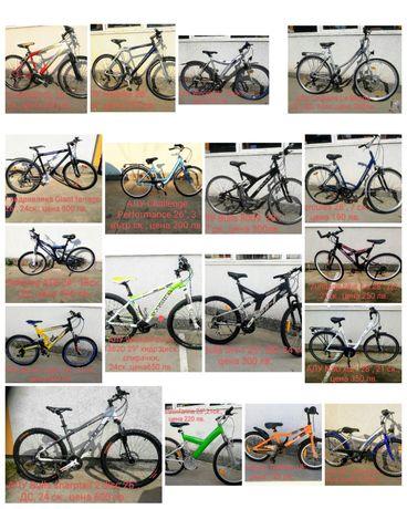"""Велосипеди - колела внос от Германия от 16"""" до 29"""""""