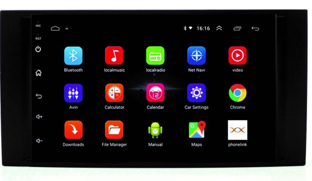 Navigatie 2Din Android 9.1, VW Touareg ,T5, Transporter USB GPS Bucuresti - imagine 1