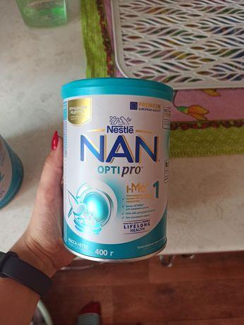 Продаю смесь NAN 1 с рождения 400гр