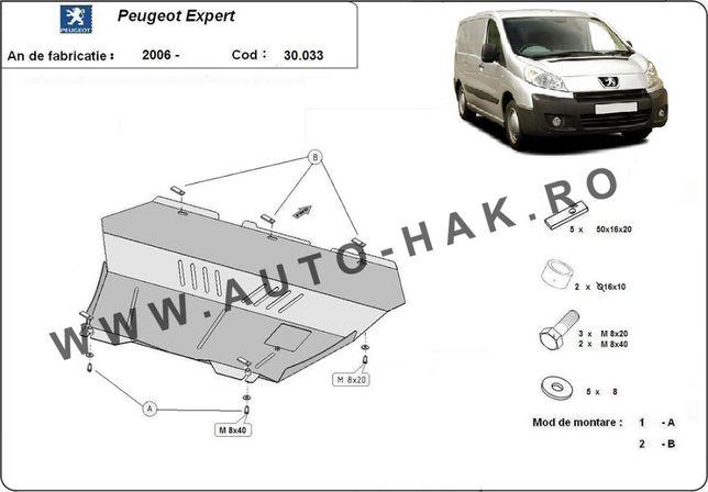 Scut motor metalic Peugeot Expert 2006-2016
