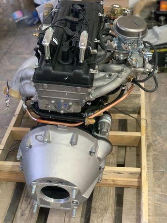 Двигатель Газель плита карбюратор , новый Гарантия , ГАЗ