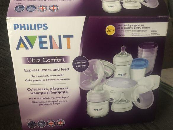Електрическа помпа за кърма на Avent Philips