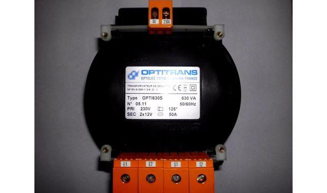 Понижающий мощный трансформатор 220V 12V или 24V (630VA)
