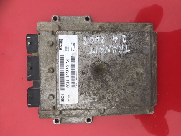 Calculator motor ECU ford transit 2008 2.4 tdci euro4 6c11-12a650-ah