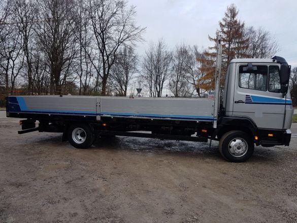 80лв. Транспорт с камион на ДЪЛГИ ТОВАРИ -11 метра и тегло 5.тона..