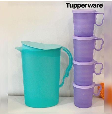 Кувшин и кружки от Tupperware