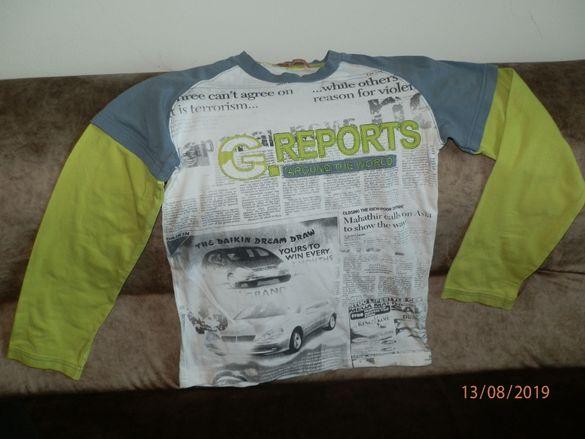 Тънки блузи за момче 10-12г/ до 140см