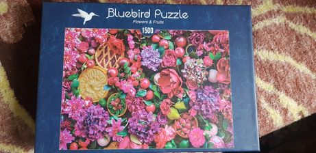 Puzzle 1500 piese Flowers&Fruits