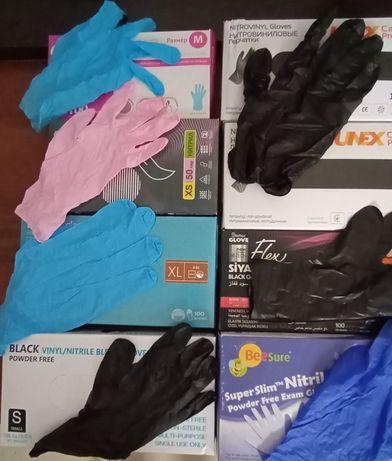 Одноразовые перчатк