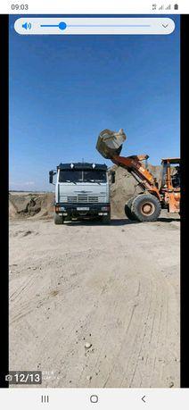 Песок грави отсев ГРУНТ 5000  с доставкой район центра договоримся