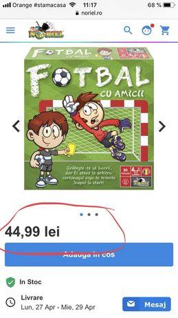 Joc football cu amicii +3 ani
