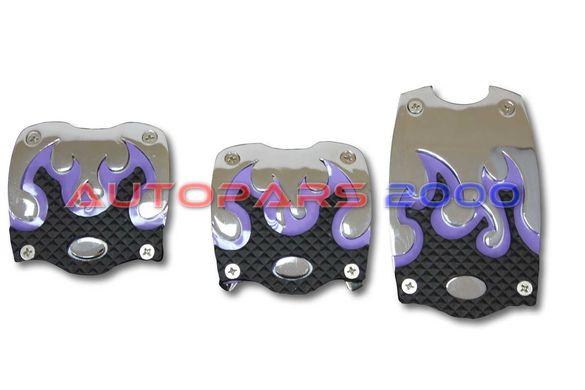 Спортни педали Type R / алуминиеви / ръчни скорости