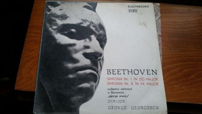 Vinyl de colectie - Beethoven - Simfonia Nr. 1 si Simfonia Nr. 8