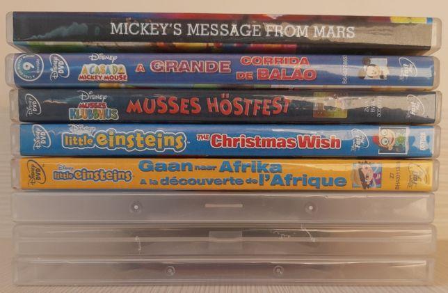 Colectia DVD desene animate educationale Clubul lui Mickey Mouse + Bon