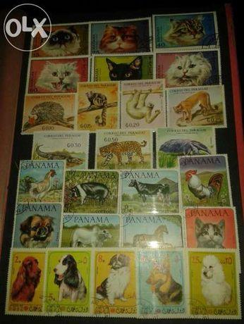 """Пощенски марки - """"флора и фауна"""""""