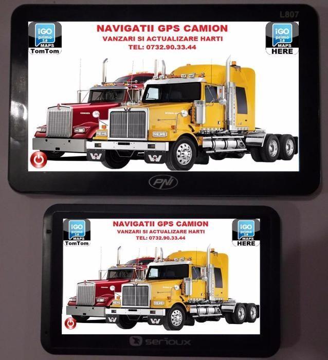 REVOLUTIONAR UNIC IN ROMANIA GPS Camion Camioane cu 9 programe Targoviste - imagine 1