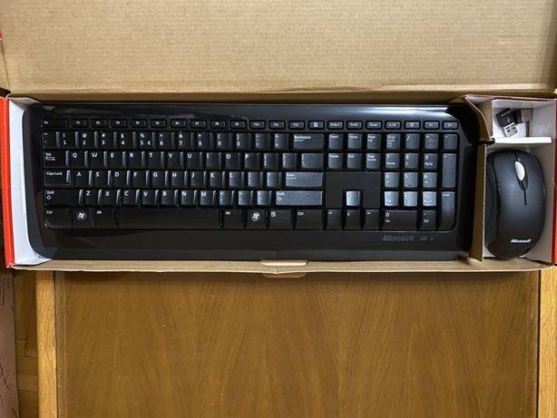 Tastatura si mouse wireless Microsoft