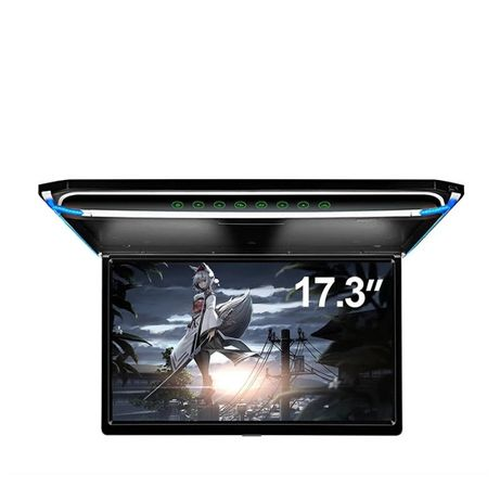 Monitor Auto Plafon Flip Down 17,3 inch ,Super Slim,Full HD,HDMI,USB