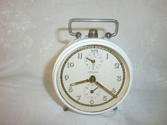 Стар Немски Часовник Будилник , JUNGHANS ,Юнгханс