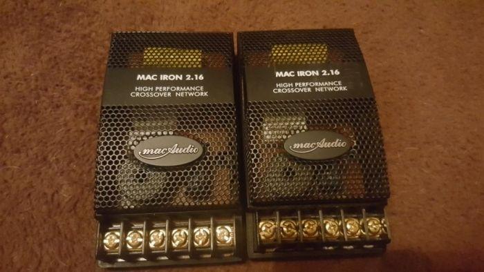 Difuzoare macAudio mac iron 2.16 filtre crossover si tweteree set Turda - imagine 1