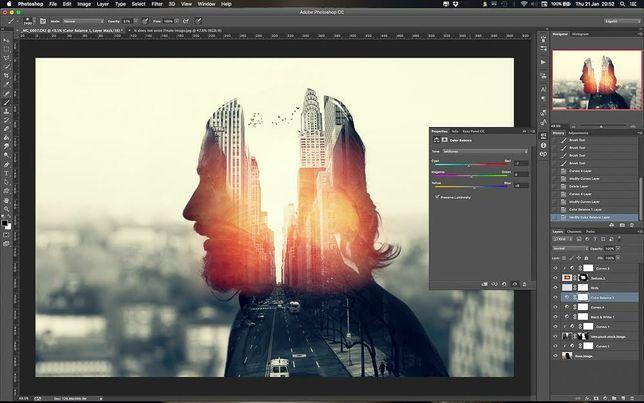 Фотошоп, монтаж, услуги фото видео дизайнера