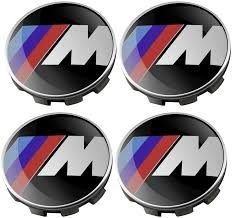 Set 4 Capace 68mm bmw M pentru jante aliaj originale BMW
