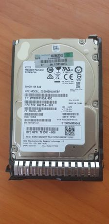 HP SAS 300 GB 6G 10K 2.5