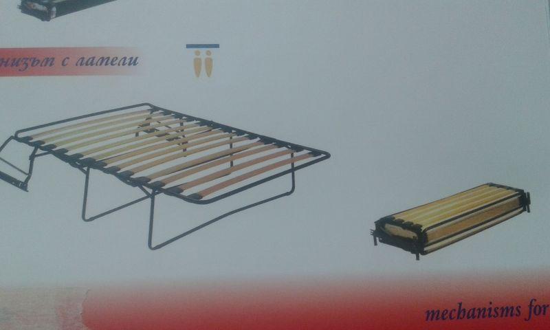 Ламелен механизъм за разтегателен диван - 189 лева гр. Бургас - image 1