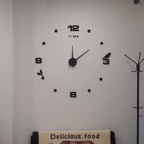 3D часы. Дизайнерские часы. Настенные часы. 3Д часы.