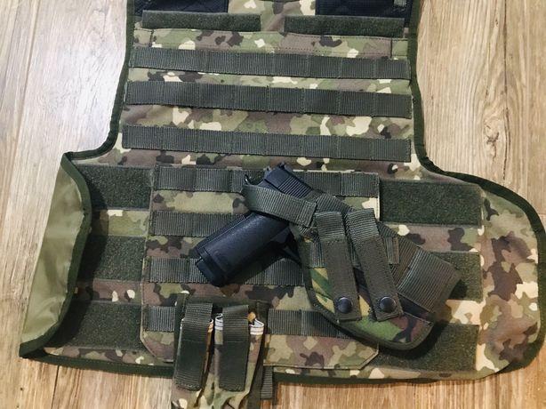 Vesta combat - pentru airsoft originala - MAPN - Forte de interventie