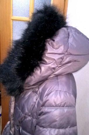 Пуховик Пальто, красивое, удлинённое, стильное, недорого!