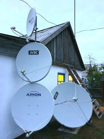 Настройка и продажа спутникового телевидения