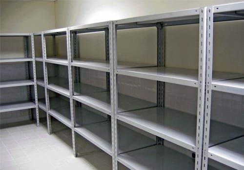 Складские архивные стеллажи полки для хранения металлические