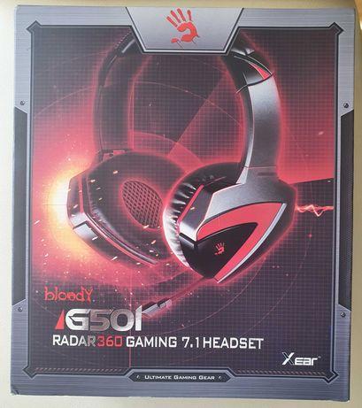 Геймърски слушалки A4Tech Bloody G501