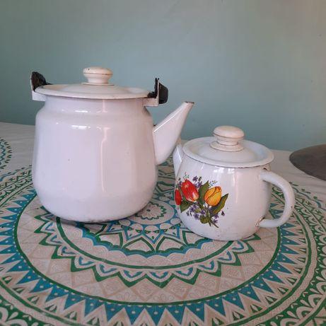 Шаугим и чайник.
