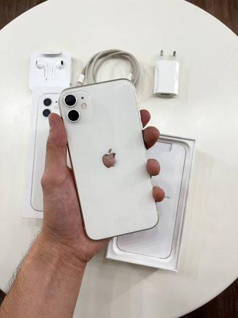 iPhone 11 White 64gb (полный комплект)