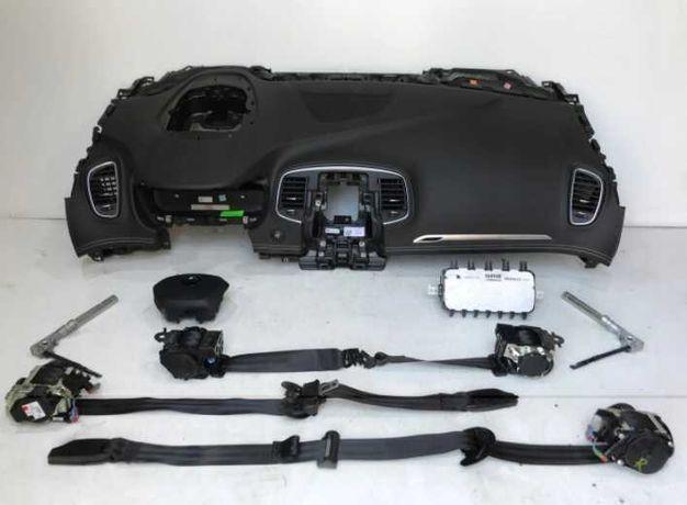 RENAULT SCENIC IV 4 kit airbag volan pasager plansa de bord centuri