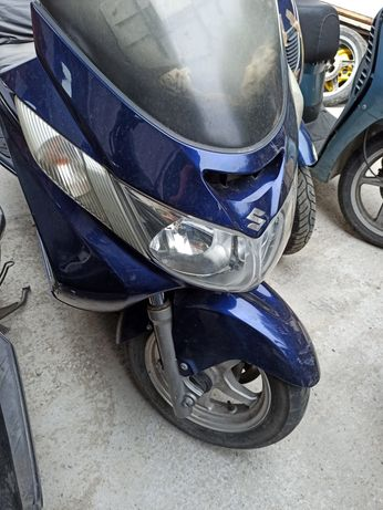Suzuki Burgman 400 На Части