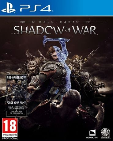Middle-earth: Shadow of War/ PS4 / Игра / Нова / Playstation4 / TV