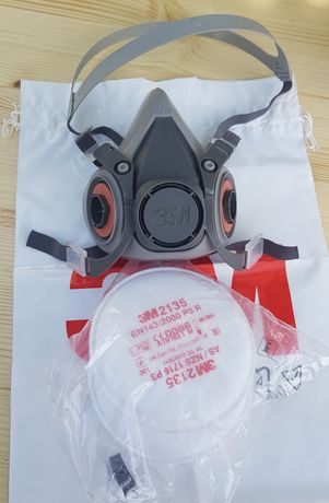 Masca 3M + filtre , praf chimicale fum gaze lacuri vopsele