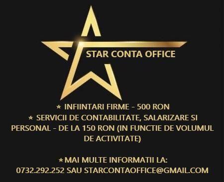 StarContaOffice - Infiintari firme si contabilitate la preturi corecte