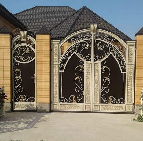 Ворота. Решётки. Двери. Перила. Козырьки. Качели. Лестницы.