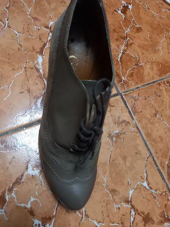 Pantofi 37 noi gri închis